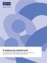 Rapport 2014:12 Är skuldsanering rehabiliterande?